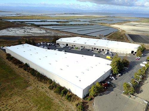 140,000 sf acrylic coating Hayward, CA
