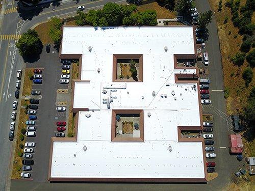 Firestone TPO Roof Novato, CA