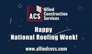 Happy National Roofing Week with ACS Logo