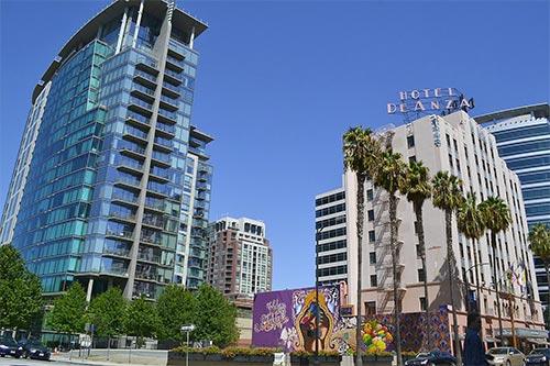 San Jose Skyscrapers downtown.