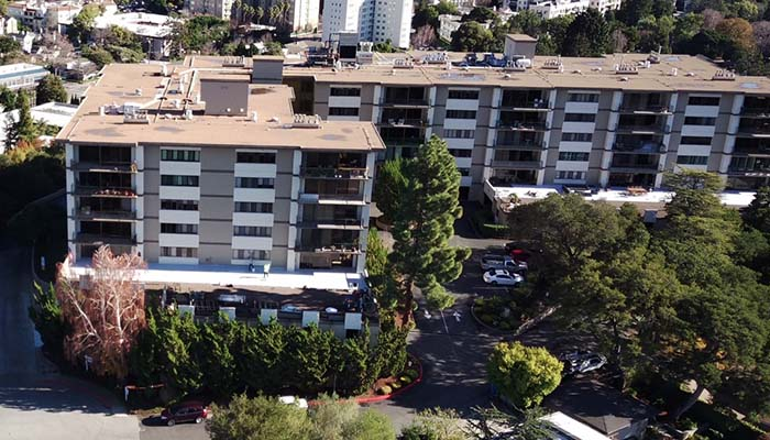 Commercial building waterproofing San Mateo CA